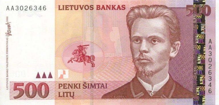Mata Uang Lithuania